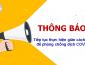 UBND Thành Phố Hà Nội – Công văn tiếp tục thực hiện giãn cách xã hội để phòng chống dịch COVID-19
